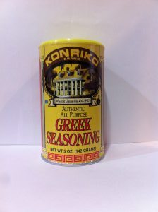 Konriko Greek Seasoning, Conrad Rice Mill, NON-GMO, Wheat Free, Gluten Free