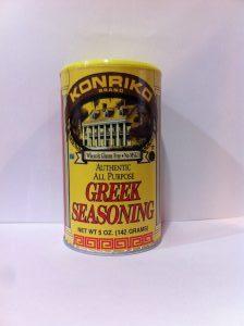 Konriko Greek Seasoning, Conrad Rice Mill, NON-GMO, Wheat Free, Gluten Free