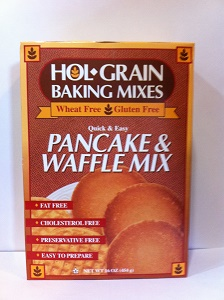 Hol Grain Baking Mixes, Pancake & Waffle Mix, Wheat Free, Gluten Free