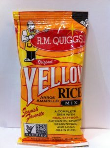 Conrad Rice Mill, Yellow Rice
