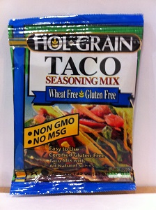 Hol Grain Taco Seasoning Mix, Wheat free, Gluten free