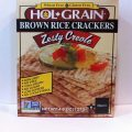 HOL-GRAIN® Zesty Creole Brown Rice Crackers