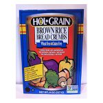Hol Grain Brown Rice Bread Crumbs. Non-GMO, Wheat Free, Gluten Free