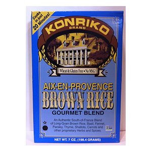 Konriko Brown Rice Gourmet Blend