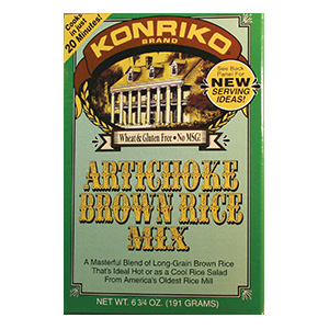 Konriko Artichoke Brown Rice Mix, Wheat Free, Gluten Free, Non-GMO