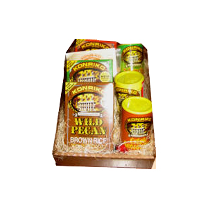 Konriko magnificent seven, Wild Pecan Rice, Seasoning, Non-GMO